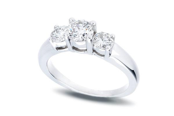 Past Present Future 3 Diamond Ring 1 0 Ctw Joliet
