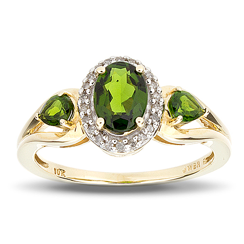 Ladies Chrome Diopside Ring Joliet